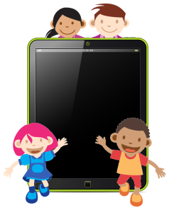 children-with-tech