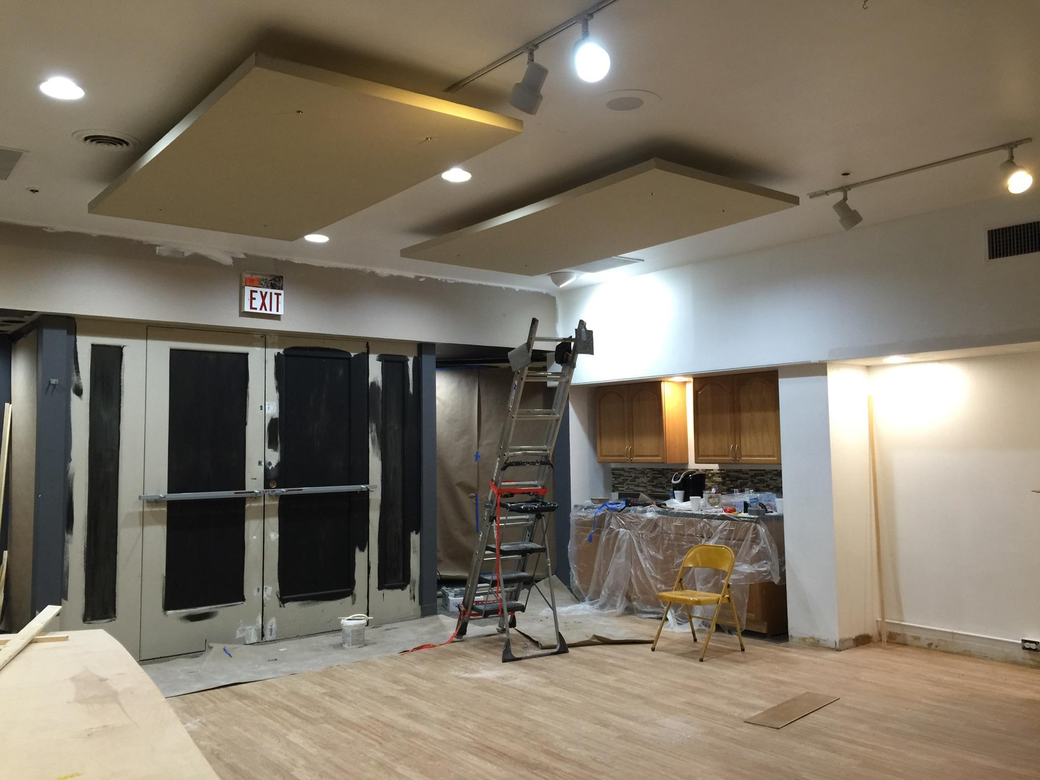 EWRC remodel progress – September 2015