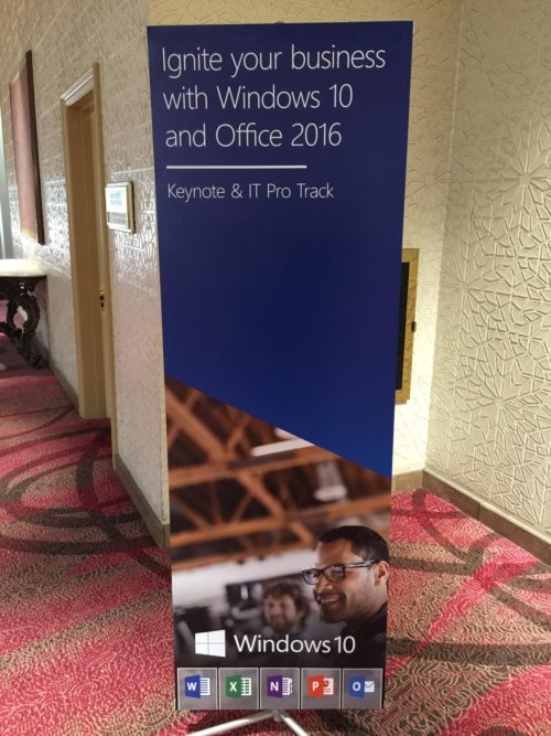 Microsoft Roadshow with Office 2016 & Windows 10