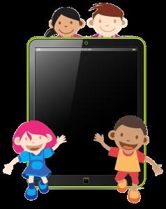 children-with-tech